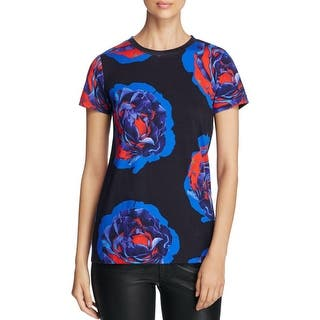 DKNY Womens Petites T-Shirt Floral Cotton - xp https://ak1.ostkcdn.com/images/products/is/images/direct/bdb4965db67695426d550a8a87ed96b5e968543a/DKNY-Womens-Petites-T-Shirt-Floral-Cotton.jpg?impolicy=medium