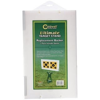 Caldwell Replacement Backers For The Ultimate Target Stand 2 Pack