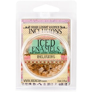 Iced Enamels Inclusions Mica .5oz-Bronze