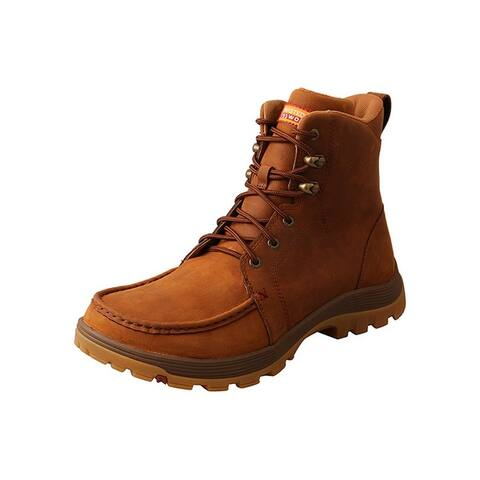 Twisted X Work Boots Mens Rubber Outsole Oiled Saddle