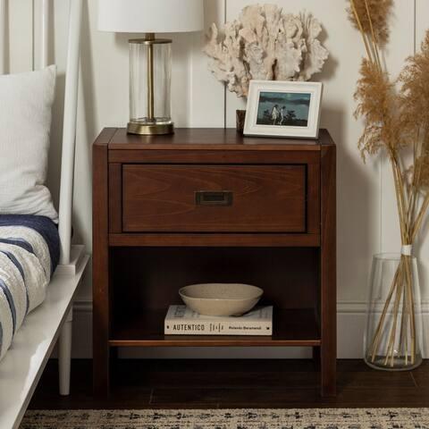 Carson Carrington Modern 1-Drawer Nightstand