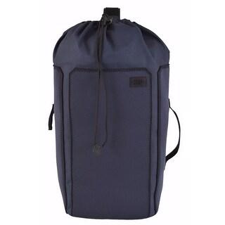 Jack Spade Blue Black Geller Drawstring Backpack Sling Bag