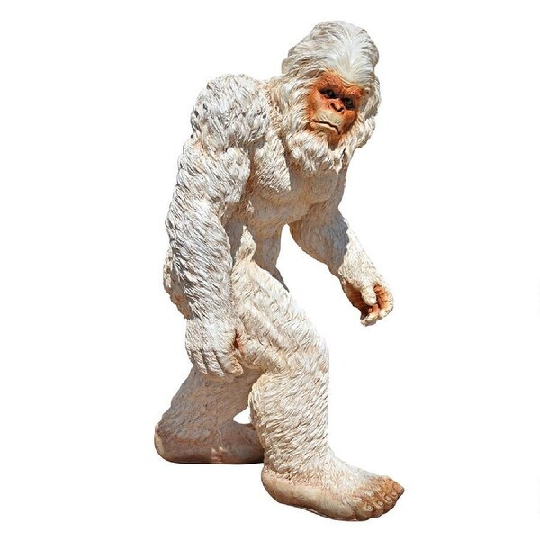 "21"" Medium Abominable Snowman Yeti Outdoor Garden Statue - N/A"