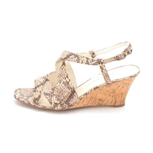 Etienne Aigner Womens Ashton Fabric Open Toe Casual Slingback Sandals - 9.5