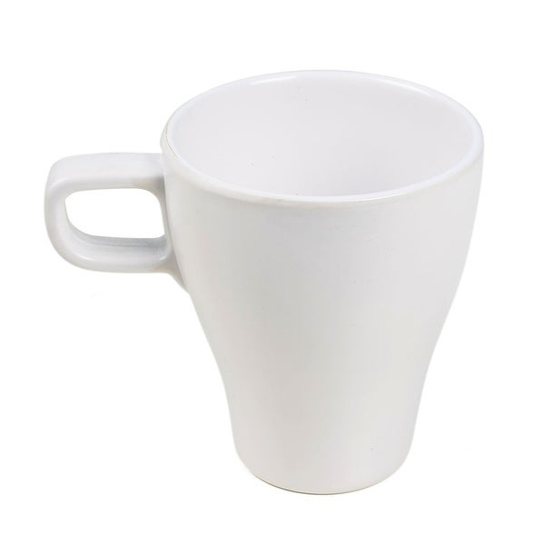 Unique Bargains Home Office Plastic Handhold Drinking Coffee Tea Water Cup Bottle White