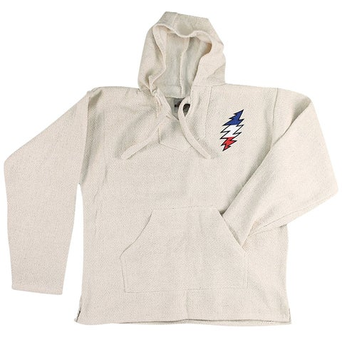 Ramatex International Unisex Grateful Dead Baja Hoodie - Skull Logo Hooded Shirt