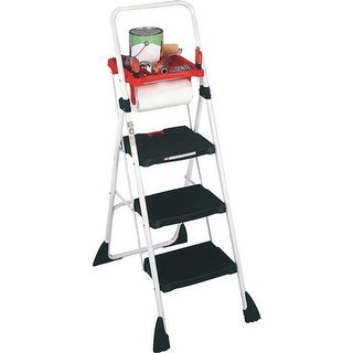 Amerihome 3 Step Utility Stool With Tray Free Shipping