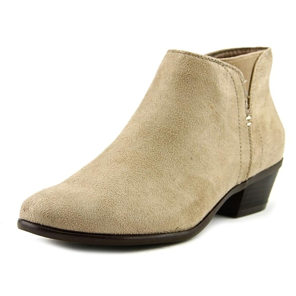Madeline Track Down 2 Women Round Toe Synthetic Nude Ankle Boot