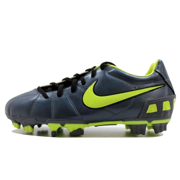 Nike Men's Total90 Shoot III 3 FG Metallic Blue Dusk/Volt-Black 385402-470