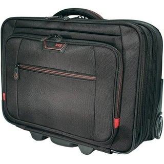 "Mobile Edge Carrying Case (Roller) for 17.3"" Notebook - Black (Refurbished)"