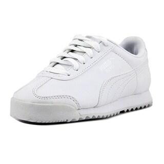 Puma Roma Basic Puma White-Gray Violet Athletic Shoes