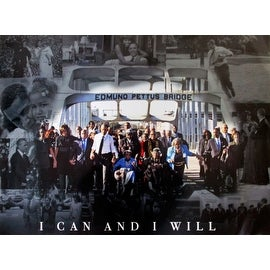 Selma March Poster I Can And I Will 50th Anniversary (18x24)