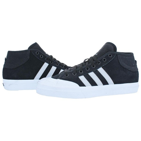 Shop Adidas Mens Matchcourt Mid ADV Skateboarding Shoes