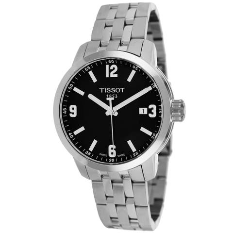Tissot Men's PRC 200 Black Dial Watch - T0554101105700 - One Size