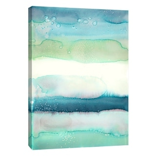 """PTM Images 9-108791  PTM Canvas Collection 10"""" x 8"""" - """"Watercolor Wash 1"""" Giclee Abstract Art Print on Canvas"""