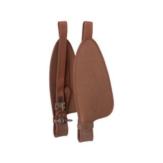 Tough-1 Stirrup Fenders King Series Synthetic Full Size Brown - full size