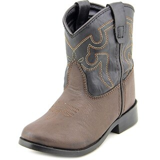 Smoky Mountain Monterey Round Toe Synthetic Western Boot