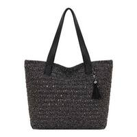 THE SAK Women's Fairmont Crochet Large Tote Urban Static - US Women's One Size (Size None)