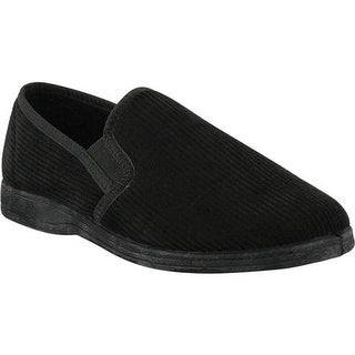 Spring Step Men's Adam Black Micro Suede