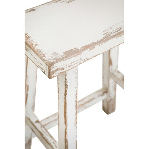 Katie Counter Stool in Antique White in Antique White