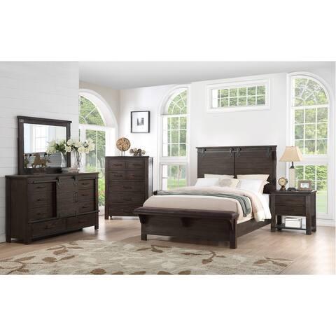 The Gray Barn Chanelle 3-Piece Modern Farmhouse Bedroom King Set