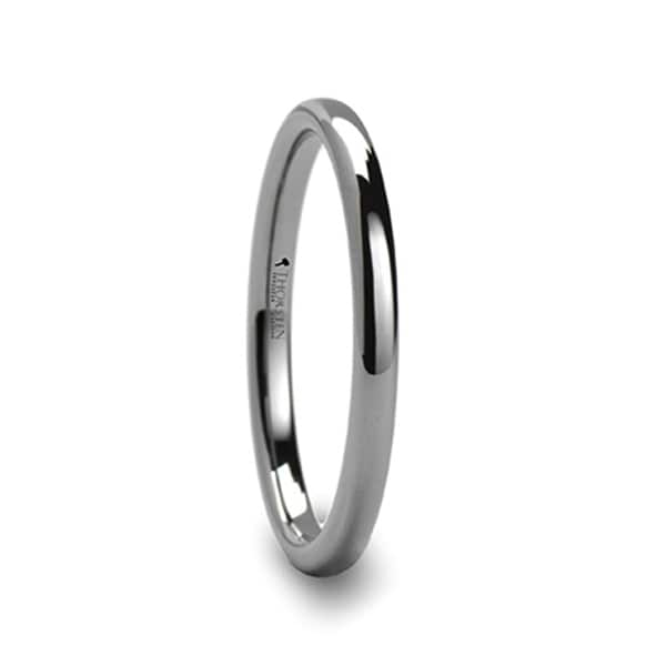 THORSTEN - DOMINUS Domed Tungsten Carbide Ring - 2mm