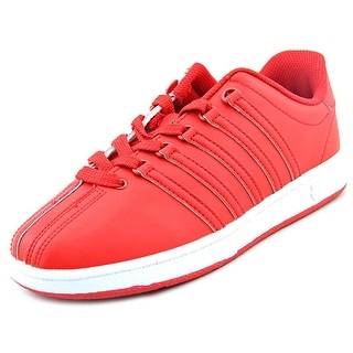K-Swiss Classic VN Round Toe Leather Tennis Shoe