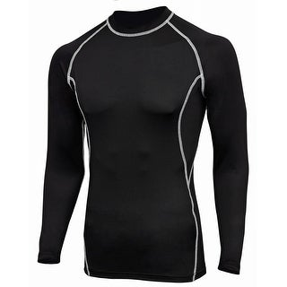 Men's Cool Dry Long Sleeve Compression Shirt Top FSF-1