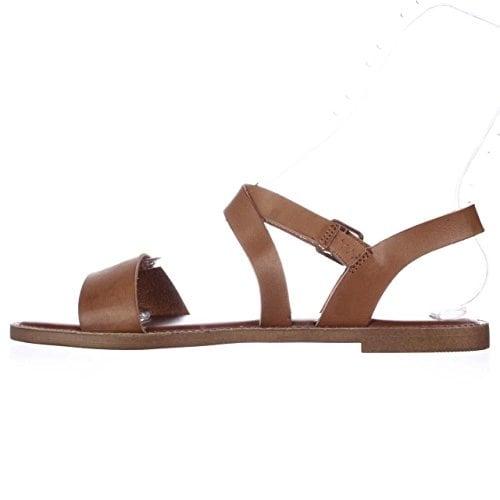 Madden Girl Briiii Ankle Strap Flat Sandals