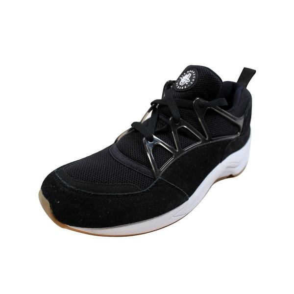 ce9a27d3166f0 ... Men s Athletic Shoes. Nike Men  x27 s Air Huarache Light Black White-Gum  Light Brown