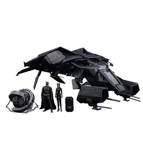 Dark Knight Rises 1/12 Scale The Bat Deluxe Collectible Set by Hot Toys - Multi