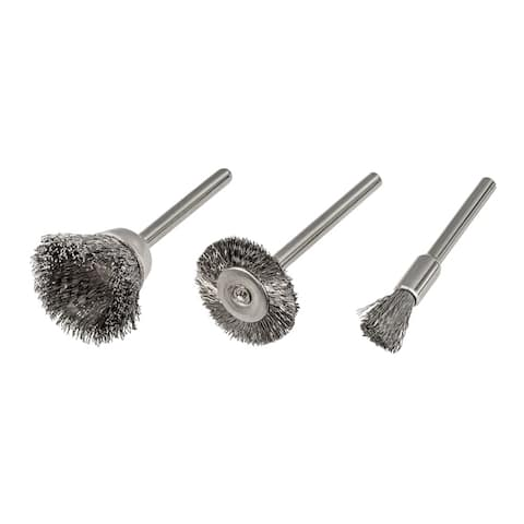 Trades Pro 3 Pc Wire Brushes - 837795