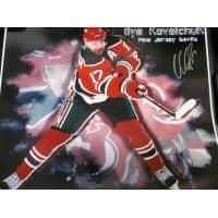 Signed Kovalchuk Ilya New Jersey Devils 16x20 photo autographed