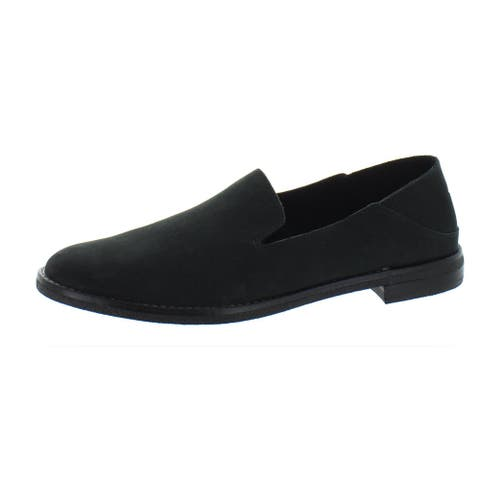 Sperry Womens Seaport Levy Loafers Suede Slip On - Black Suede