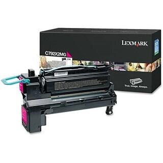 Lexmark Extra High Yield Toner Cartridge - Magenta C792X2MG Extra High Yield Toner Cartridge - Magenta