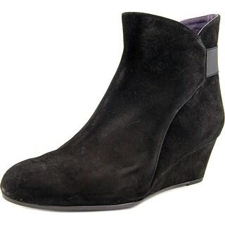 Vaneli Lana Women  Round Toe Suede  Ankle Boot