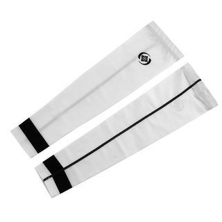 XINTOWN Authorized Cooler Band Arm Sleeves Support Sun Protector White S Pair