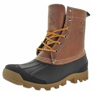 Kamik Yukon Men's Waterproof Winter Duck Boots