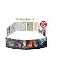 Dungeons & Dragons - Dm Screen - Elemental Evil