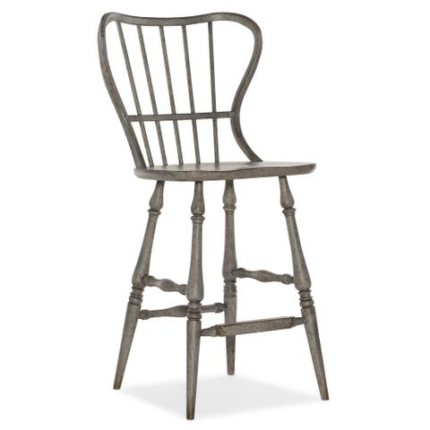 "Hooker Furniture 5805-75361 Ciao Bella 24"" Wide Spindle Back Farmhouse"