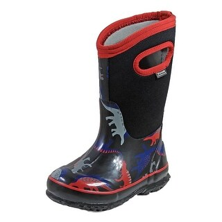 Bogs Outdoor Boots Boys Classic Dino Waterproof Insulation