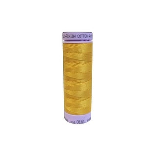 9105 0161 Mettler Silk Finish Cotton 50 164yd Marigold