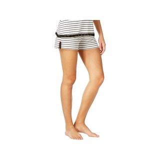 Jenni by Jennifer Moore Womens Sleep Short Striped Lounge - XS