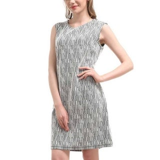 Mad Style Abstract Shape A-Line Dress