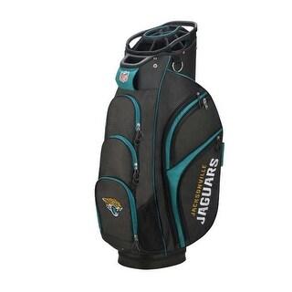Wilson NFL Jacksonville Jaguars Cart Golf Bag 14 Divide Top WGB9700JX - Black