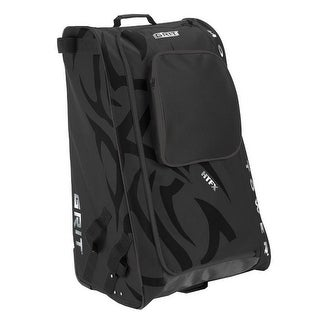 "Grit Inc HTFX Hockey Tower 33"" Wheeled Equipment Bag Black HTFX033-B (Black) - 33''h x 20''w x 17''d"