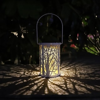 Link to Outdoor Waterproof Solar Light LED Lantern Retro Hanging Lamp Decors for Patio Garden Similar Items in Outdoor Decor