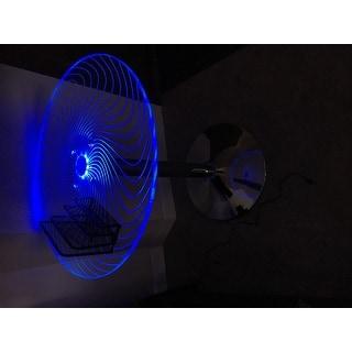 Porch & Den Starbuck Metal/ Acrylic LED Light-Up Bar Table