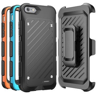 iPhone 6s Battery Case, SUPCASE MFI Certified Beetle Power Holster Battery Case for Apple iPhone 6-Black/Blue/Orange
