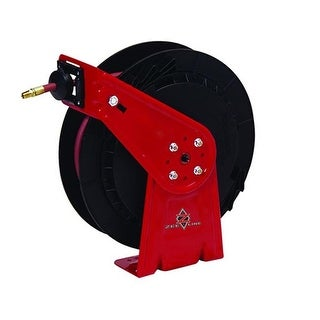 0.25 in. X 25 ft. Medium-Duty Air & water Retractable Hose Reel